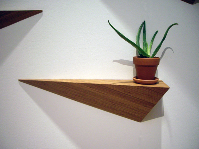 Andrea summerton Cool wood shelf ideas